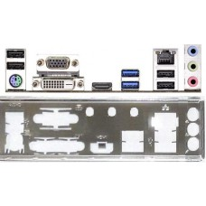 ATX Blende I/O shield ASRock H81M-ITX/WiFi #928 io NEU OVP bracket backplate