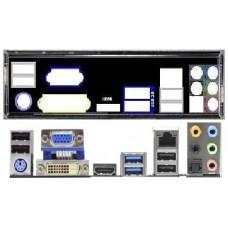 ATX Blende I/O shield ASRock Z68 Pro3 #979 Z68 Pro3 Gene3 io NEU backplate new