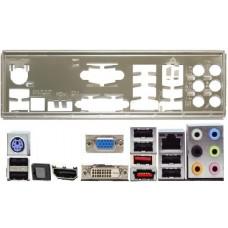 ATX Blende I/O shield Asus M3A78-T M4A78T-E OVP NEU #103 M4A78-E M4A78T-E io