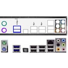 ATX Blende I/O shield Asus F1A55 P8H67 NEU OVP #138 P8H61 Pro EVO io backplade