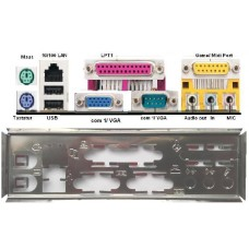 ATX Blende I/O shield Asus A7N266-VM SE #263 A7S-VM A7V266-M io schield NEU OVP
