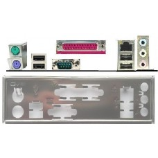 ATX Blende I/O shield Asus A7N8X-X #381 io schield backplate NEU OVP A7N8XX