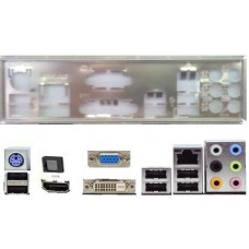 ATX Blende I/O shield Asus F1A55-M P8H67-M Pro P7H55D-M #51 P8Z68-V LE F1A75-M
