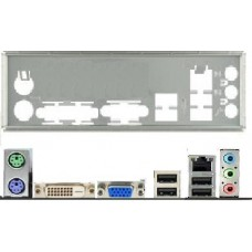 ATX Blende I/O shield Asus H61M-F #705 io NEU OVP backplate H81M-Pro bracket new