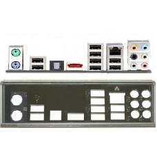 ATX Blende I/O shield Asus P7P55D LE io NEU OVP #84 P7P55D-E LX
