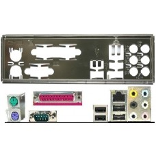 ATX Blende I/O shield Asus M3A78-EH M3N78-EH P5KPL-C 1600 #905 io bracket NEU