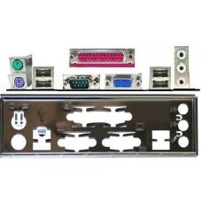 ATX Blende I/O shield A7V333 P4B533-E P4B533-V P4Bgl-VM #906 io bracket NEU new