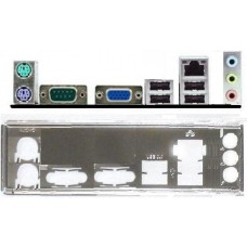 i/o shield ATX Blende Elitegroup ECS 7050M 8100 VM SM#7