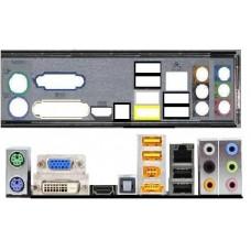 ATX Blende I/O shield Gigabyte MA78GPM-DS2H io NEU #155 OVP G33M-S2H MA78GM-DS2H
