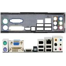 ATX Blende I/O shield Gigabyte EG41MF-US2H MA785GT-UD3H #220 MA69GM-S2H MA790GPT