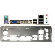 ATX Blende I/O shield GigabyteGA-H61M-DS2 DVI G41MT-USB3 G41MT-D3V #300 io NEU