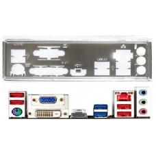 ATX Blende I/O shield Gigabyte GA-78LMT-USB3 GA-Z77M-D3H #474 io NEU H77M-D3H