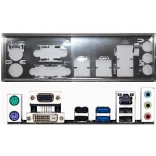 ATX Blende I/O shield Gigabyte GA-B85M-D2V #714 io NEU H77M-D3H MVP backplate