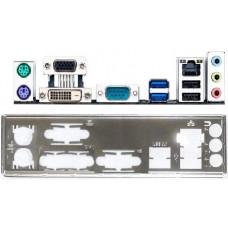 ATX Blende I/O shield Gigabyte GA-H81M-S2PV #716 io NEU H77M-D3H MVP backplate