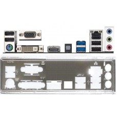 ATX Blende I/O shield Gigabyte GA-F2A88XM-D3H #717 io NEU backplate bracket 1508