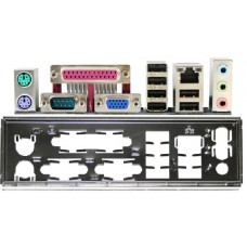ATX Blende Gigabyte i/o shield GA-G33M-S2L NEU #862 io NEU backplate NEW bracket