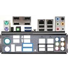 ATX Blende i/o shield MSI X48C Platinum K9A2VM-FD #150 io OVP K9N2GM-FD K9N2GM