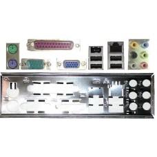 ATX Blende i/o shield MSI K9A2GM-F V3 NEU #164 io OVP GF615M-P33 V2 P4MAM-V