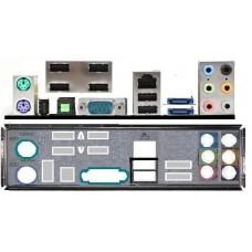 ATX Blende I/O shield MSI K9A2 CF-F K9A2 Neo-F P6N SLI #205 io schield NEU OVP