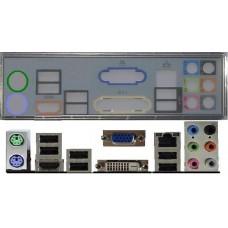ATX Blende I/O shield MSI H55M-P31 #272 io schield NEU OVP H55M-E33