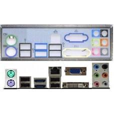 ATX Blende I/O shield MSI Z68A-G43 (G3) #348 io schield backplate NEU OVP Z68