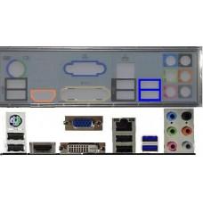 ATX Blende I/O shield MSI A75MA-G55 #353 io schield NEU OVP A55M-G55