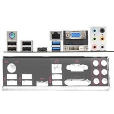 ATX Blende I/O shield MSI B75A-G43 Gaming #573 io OVP NEU bracket backplate new
