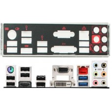 ATX Blende I/O shield MSI B85-G43 Z87-G43 Gaming #679 io OVP NEU backplate new