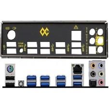 ATX Blende I/O shield MSI X99S MPower #933 io OVP NEU backplate bracket new 1150