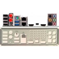 ATX Blende i/o shield Zotac Z68ITX Z68 ITX #490 NEU io backplade bracket NEW OVP