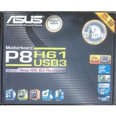 Zubehoer Asus P8H61 USB3 manual CD DVD s-ata3 Kabel i/o shield NEU OVP NEW io xwx