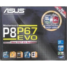 Zubehoer Asus P8P67 EVO B3 manual CD DVD s-ata3 Kabel i/o shield NEU OVP io xwx