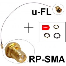 Antennen Adapter Kabel RP-SMA u-FL Wlan WiFi Speedport Fritz!Box Pigtail Ipex