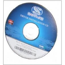 original Sapphire ATI Radeon Catalyst Treiber V13 CD HD7870 HD7850 HD7770 HD7950