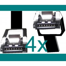 100x SATA3 Daten Kabel Asus 100 Stueck S-ATA3 6 GB/s Winkel Clip SATA 3 600 cable