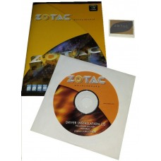 original zotac NM10-ITX Mainboard Treiber CD DVD + Handbuch manual + Sticker NEU