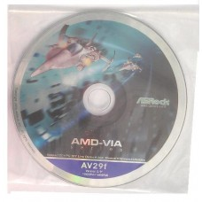original ASRock Mainboard Treiber CD DVD K7VM3 *18 Windows 7 Vista Win XP
