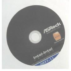 original ASRock Mainboard Treiber CD DVD H77M-ITX *43 Win 7 XP Vista driver NEW