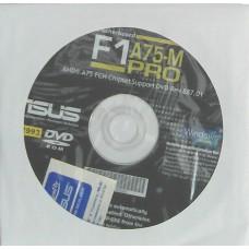 original asus Mainboard Treiber CD DVD F1A75-M Pro Windows XP 7 Vista Aufkleber