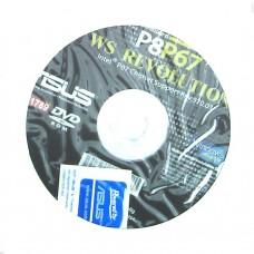 original asus Mainboard Treiber CD DVD P8P67 WS Revolution XP 7 Vista Aufkleber