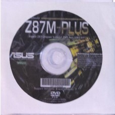 original asus Mainboard Treiber CD DVD Z87M Plus WIN 7 8 NEU Windows driver new