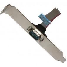Asus Slotblech 1x seriell COM com1 bracket Slotblende NEU OVP Kabel Adapter