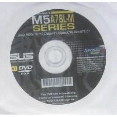 original Asus Mainboard Treiber CD DVD M5A78L-M Plus NEU Driver Win7 Vista XP