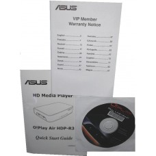 Asus manual Handbuch Garantieheft Treiber + utility CD o!play oplay HD HDP-R3