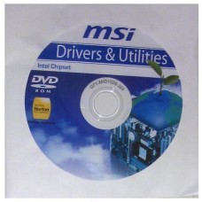 original MSI Mainboard Treiber CD DVD H61M-E33 °01 Windows 7 Vista Win XP