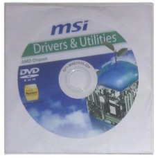 original MSI Mainboard Treiber CD DVD 970A-G46 °07 Windows 7 Vista Win XP