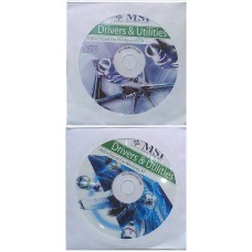 original MSI Mainboard Treiber 2x CD DVD KA790GX °14 Windows 7 Vista Win XP