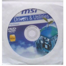 original MSI Mainboard Treiber CD DVD P43-C51 °17 Windows 7 Vista Win XP