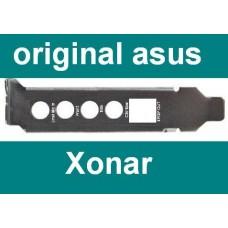 Asus Xonar DG DGX LP Slotblech Front Mic Back SPDIF Line Slotblende Low Profile