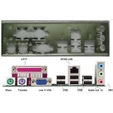 ATX Blende I/O shield ASRock AliveNF6G-VSTA AM2NF3-VSTA #4 io NEU OVP backplate